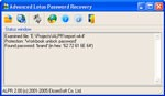Advanced Lotus Password Recovery