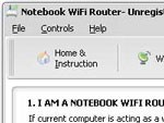Gateway Notebook WiFi Router