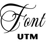 UTM fonts