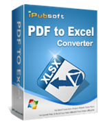 PDF to Excel Converter iPubsoft