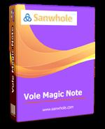 Vole Magic Note