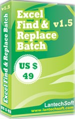 Find & Replace Batch Excel