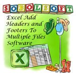 Excel Headers and Footers To Add Multiple Files Software