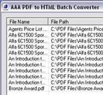 AAA PDF to HTML Converter