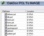 PCL to IMAGE Converter OakDoc