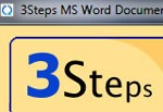 MS Word Documents Joiner 3Steps
