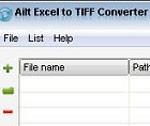 Ailt Excel to TIFF Converter