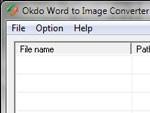 Okdo Word to Image Converter