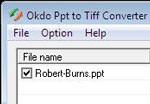 Okdo Ppt to Tiff Converter