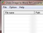Okdo Image to Word Rtf Converter