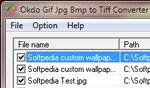 Okdo Gif to Tiff Converter JpgBmp