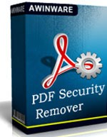 AWinware PDF Restrictions Remover