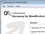 Recovery for WordPerfect