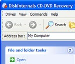 DiskInternals CD and DVD Recovery