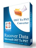 Recover Data for OST to PST