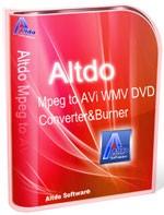 Altdo MPEG to AVI WMV DVD Converter & Burner