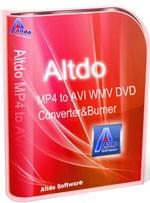 Altdo MP4 to AVI WMV DVD Converter & Burner
