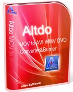 Altdo MOV to AVI WMV DVD Converter & Burner