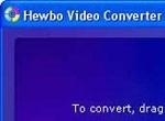 Hewbo Video Converter