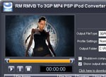 iWellsoft RM RMVB to 3GP PSP iPod MP4 Converter