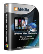 4Media iPhone Max Platinum
