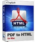 iOrgSoft PDF to HTML Converter for Mac