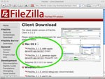 FileZilla for Mac (PPC)