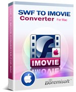 SWF to iMovie Converter for Mac