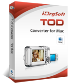 iOrgSoft Tod Converter for Mac