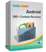 SMS + Contacts Android Coolmuster Recovery for Mac