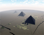 Pyramids of Egypt 3D Screensaver for Mac