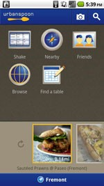 Urbanspoon for Android