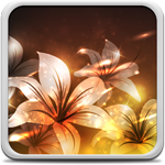 Glowing Flowers Live Wallpaper for Android