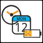 Battery Clock Calendar For Android