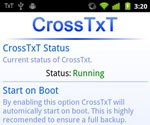 CrossTxT for Android