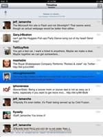 Tweeterena 2 for iPad