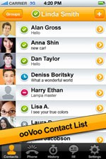 ooVoo Mobile for iPhone