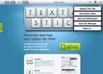 Textastic for iPad