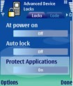 Advanced Device Locks for Series 60 3rd / 5th Edition