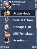 Free Advanced Call Manager for Symbian