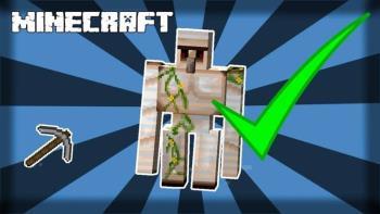 Cómo crear Iron Golem en Minecraft