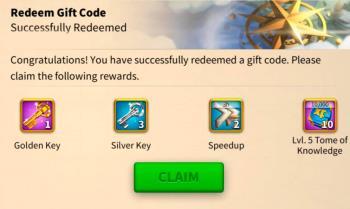 لیست و نحوه دریافت کدهای هدیه در Rise of Kingdoms
