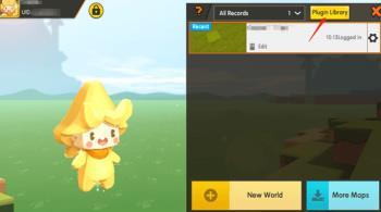 Mini World: Block Art에서 [Status] 플러그인 사용 방법