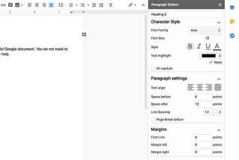 Einfache Möglichkeit, schöne Google-Dokumente zu erstellen
