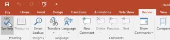 PowerPoint lernen - Lektion 23: Rechtschreibung und Grammatik prüfen