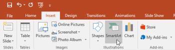 PowerPointを学ぶ-レッスン22:SmartArtグラフィックの使用方法