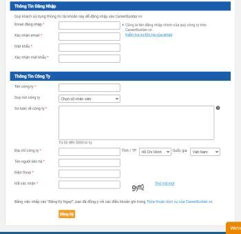 CareerBuilderに登録してログインするための手順