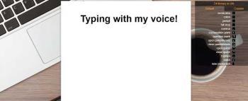 Как вводить текст голосом без программного обеспечения