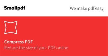 Как сжать файлы PDF, уменьшить размер PDF без установки программного обеспечения