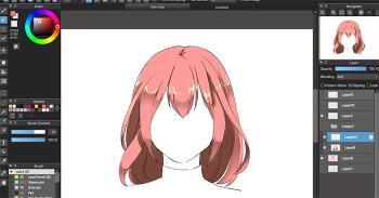 MediBang Paint Proをインストールして使用し、プロの漫画を描きます